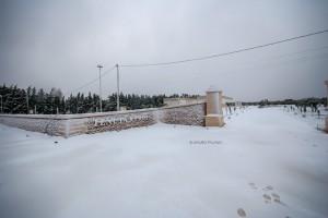 2 - ingresso con neve