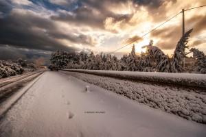 La neve sulla Tenuta Kyrios 1 _DSC0748 M © MAURO PALANO
