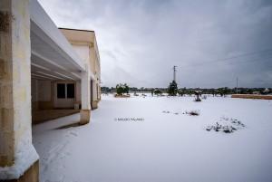 La neve sulla Tenuta Kyrios 9 _DSC0797 M © MAURO PALANO