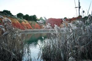 Otranto, lago di bauxite - © Mauro Palano