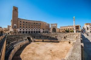 Piazza Sant'Oronzo, vista sull'anfiteatro © MAURO PALANO